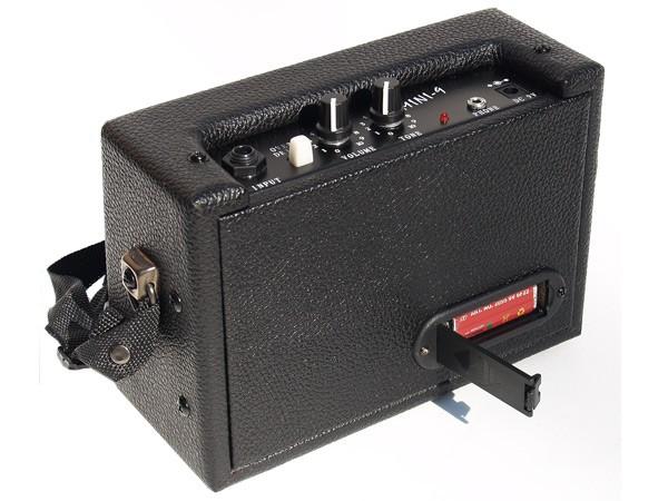 mini guitare lectrique amplificateur amp combo de 9 volt ebay. Black Bedroom Furniture Sets. Home Design Ideas