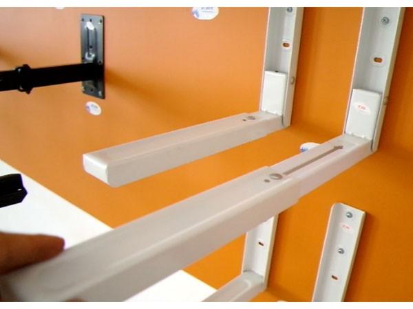 wandhalterung halterung f r mikrowelle microwelle boxen. Black Bedroom Furniture Sets. Home Design Ideas