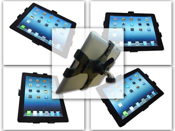support de tablette pour microphone pied ipad 1 2 3 4 gen micro ebay. Black Bedroom Furniture Sets. Home Design Ideas