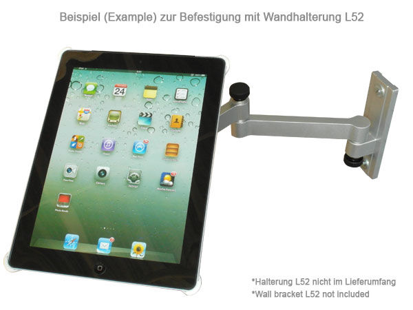 adapterplatte passt f r ipad 2 3 erweiterung f r tv wand. Black Bedroom Furniture Sets. Home Design Ideas