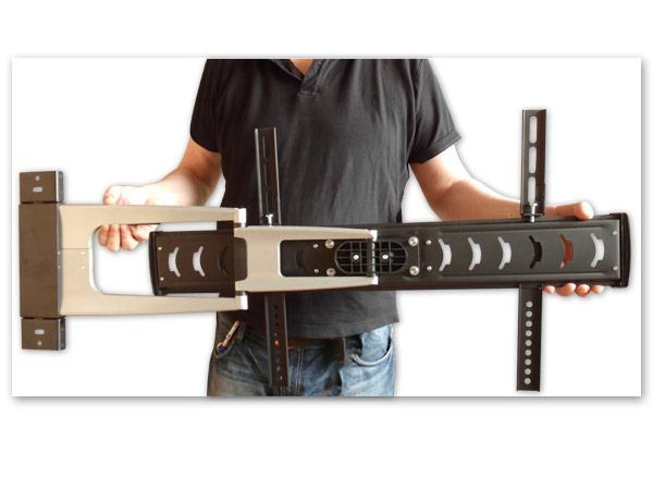 Tv montaggio a parete led lcd plasma estrazione girevole supporto da - Montaggio tv a parete ...