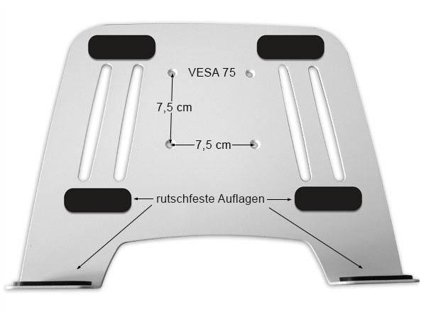 Fernseher wandhalterung adapter f r notebook netbook - Wandhalterung fur tablet ...