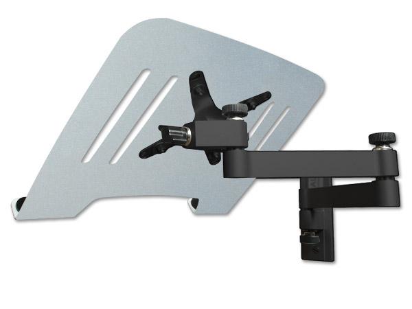 pc portable support mural avec adapter pour tablette pc r glable couleurs ebay. Black Bedroom Furniture Sets. Home Design Ideas