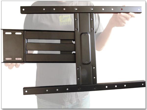 support mural pour tv plasma led lcd t lescopique pivotant tilt vesa 200 300 400 ebay. Black Bedroom Furniture Sets. Home Design Ideas