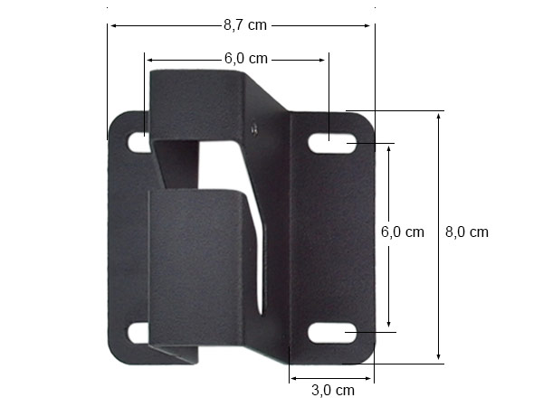 Universal support mural pour tv cran ordinateur audio for Support mural ecran ordinateur