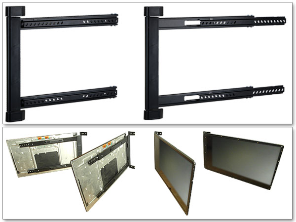 Support mural pour tv et montage en angle 42 64 pouces led - Support mural tv angle ...