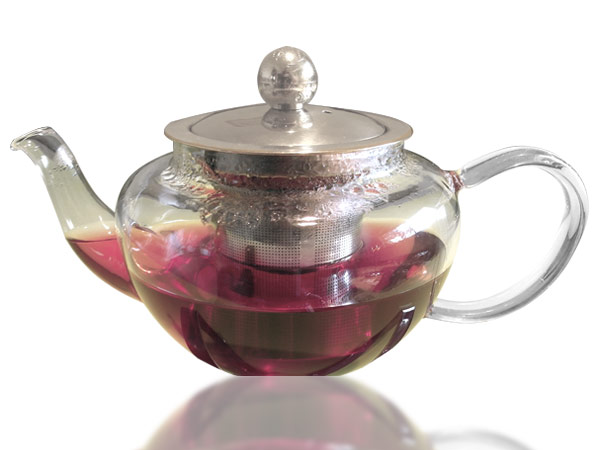 glas teekanne kaffekanne 450ml metallsieb teesieb teeeinsatz tee kanne teapot ebay. Black Bedroom Furniture Sets. Home Design Ideas