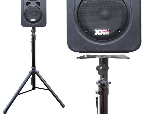Liveshow Stage Disco Lautsprecher Boxenständer externer Flansch PA Adapter