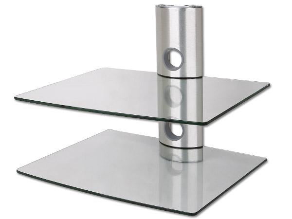 Mensole Da Parete Per Lettore Dvd : Dvd bluray ricevitore console player vetro scaffale scaffali