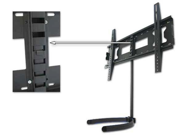 Wandhalterung led lcd tv bluray dvd player konsole receiver ablage kabelkanal ebay - Wandhalterung tv und receiver ...