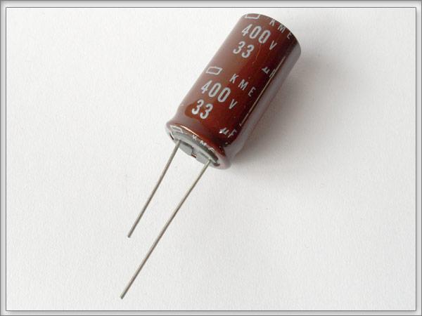 20 Stück ELKO Kondensator 400V 33uF 105°C radial Elektrolytkondensator KME/_20