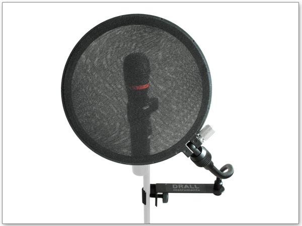 Windschutz für Mikrofon Plop Blocker Mikro Popschutz Filter für Studio Bühne
